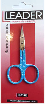 Ножницы для ногтей загнутые Leader