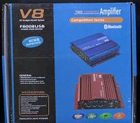 Автомобильный усилитель  CAR AMP V8 BT