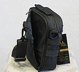 Тактична універсальна сумка на плече Silver Knight з системою M. O. L. L. E (102-black), фото 3