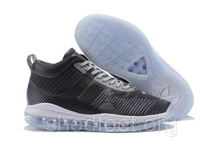 Кроссовки Nike Lebron X JE ICON QS Grey Black