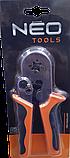 Пресс инструмент для обжима наконечников кабелей 0,25-6мм (квадрат) NEO 01-507, фото 4