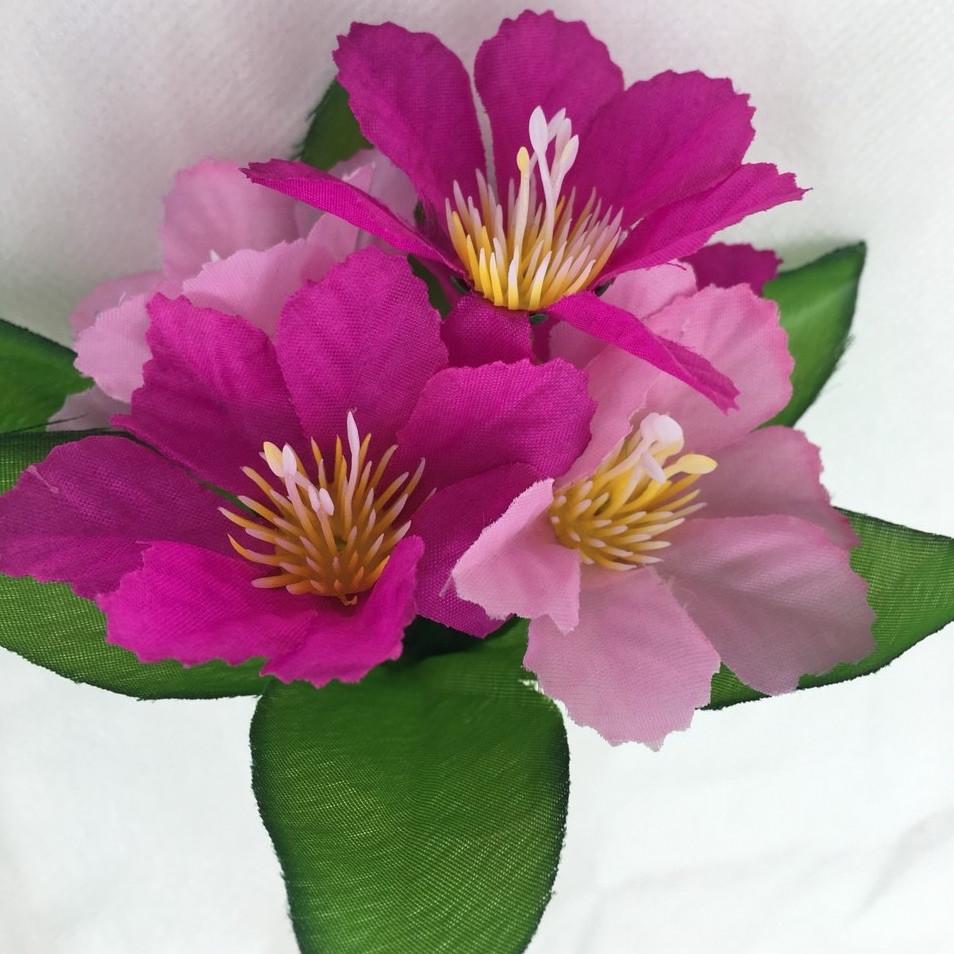 Штучні квіти заливка примулка , 22см (80 шт. в уп)