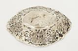 Старая серебряная тарелочка, конфетница, серебро 830, Швеция , фото 6