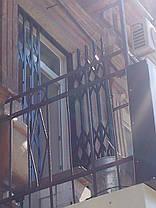 Решетки раздвижные цветные, фото 3