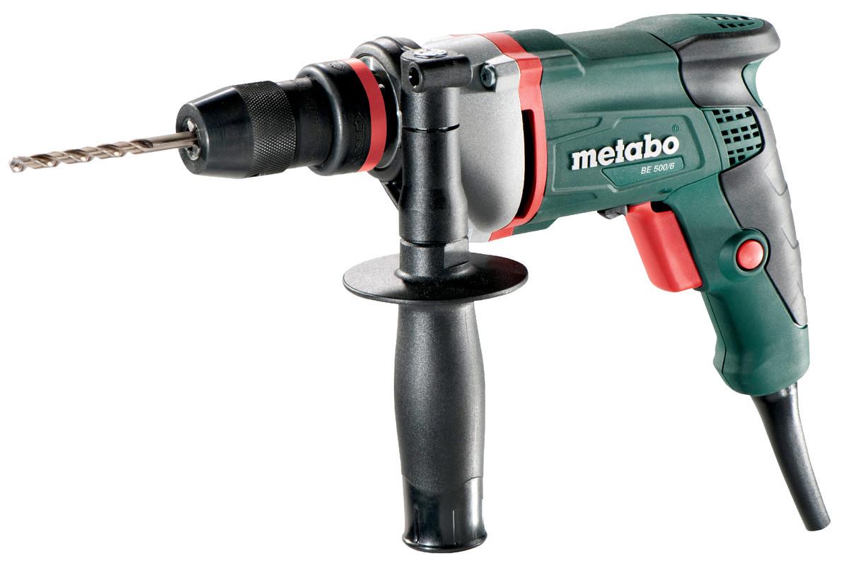 Дриль Metabo BE 500/6 ШЗП