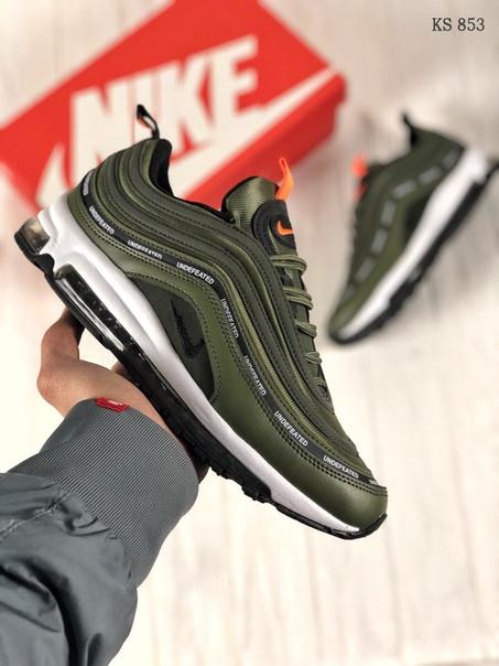 Мужские кроссовки Nike Air Max 97 зеленые