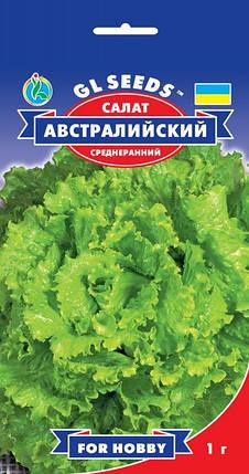 Салат Австралийский, пакет 1г - Семена зелени и пряностей, фото 2