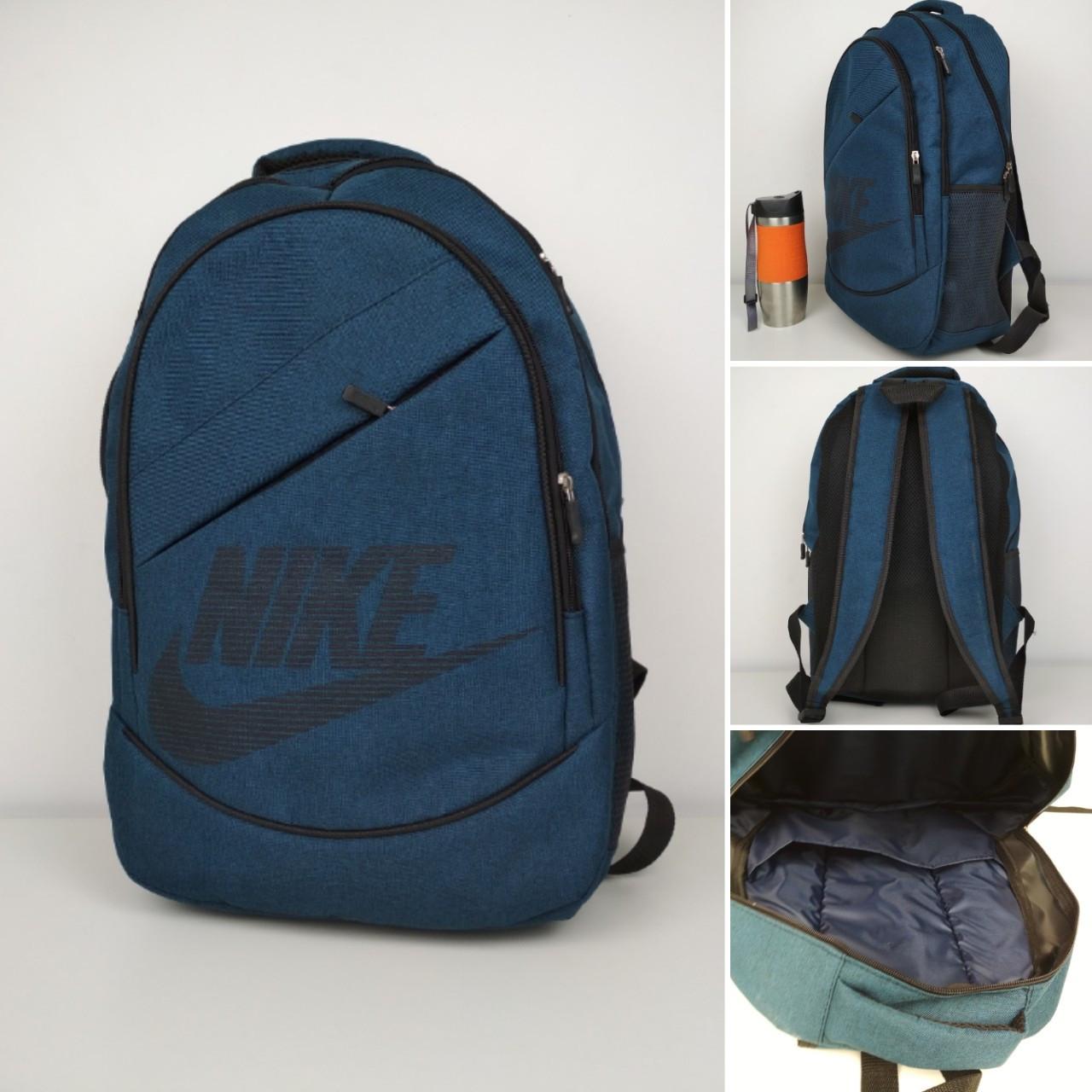 Городской повседневный рюкзак из текстиля 45*30*15 см