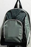 Рюкзак спортивный средний чёрный с серым в 20, фото 1