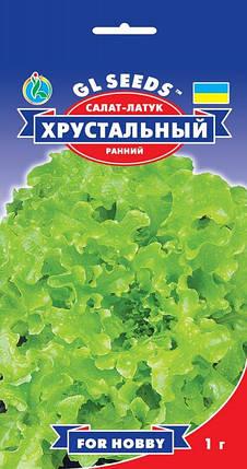 Салат Хрустальный, пакет 1г - Семена зелени и пряностей, фото 2