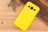Чехол накладка бампер для Samsung Galaxy Core Prime G360 желтый
