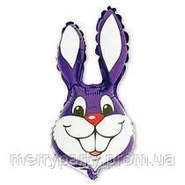 Мини-фигура 41х24 см Кролик фиолетовый Flexmetal Испания шар фольгированный