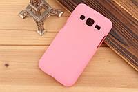 Чехол накладка бампер для Samsung Galaxy Core Prime G360 розовый