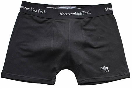 Трусы БОКСЕРЫ черные Abercrombie & Fitch reindeer,  боксерки мини-шорты, чоловічі труси 5цв, фото 2
