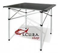 Стол раскладной алюминиевый для пикника 70*70*70 см, фото 1
