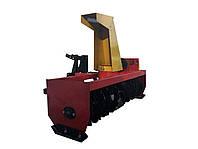 Снегоубощик для мототрактора шнековый, одноконтурный (1,2 м, гидравлика)