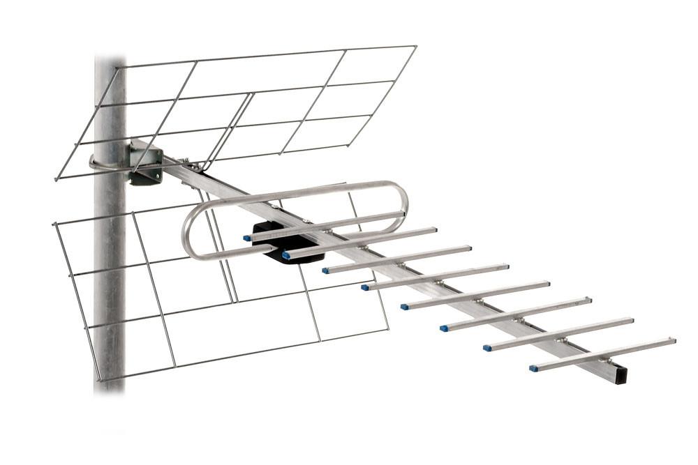 ТВ-антена Т2 Енергія 0,7 м з підсилювачем