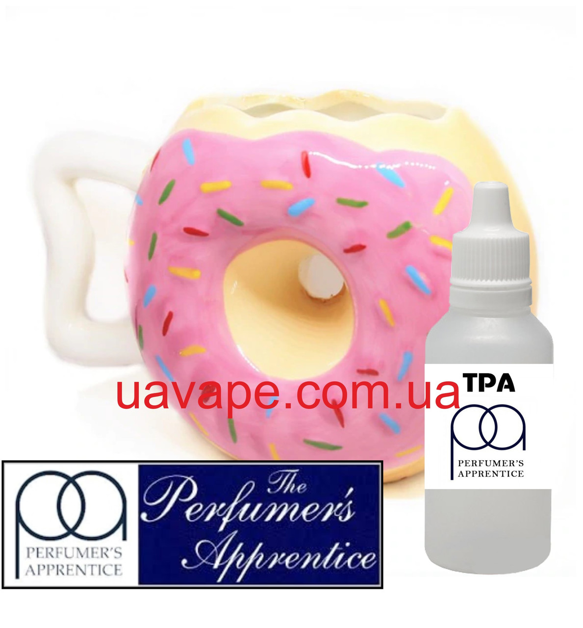 Ароматизатор TPA- Frosted Donut Flavor ТПА пончик бисквитный, 10 мл