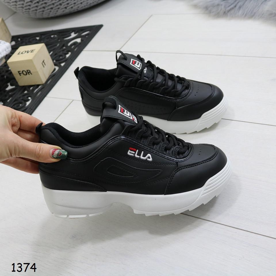 6549c442 Женские черные кроссовки, эко кожа (копия бренда): продажа, цена в ...