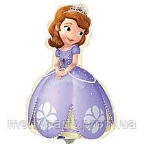 Мини-фигура 36х25 см Принцесса София Anagram США шар фольгированный