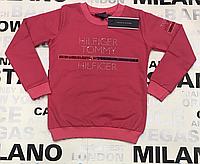 Детский  брендовый реглан для девочки  розового цвета 122