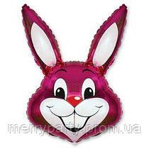 Мини-фигура 41х24 см Кролик малиновый Flexmetal Испания шар фольгированный