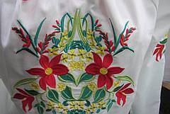 Туника-вышиванка с цветами, фото 3