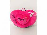 Подушка Мягкая Говорящее Сердечко Подарок на День Влюбленных ширина 27 см в Упаковке 5 шт