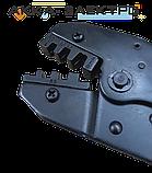 Клещи обжимные 0.5 - 6 мм Intertool (HT-7050) для мама/папа контактов., фото 2