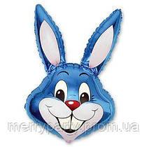 Мини-фигура 41х24 см Кролик синий Flexmetal Испания шар фольгированный