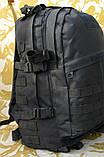 Тактичний (військовий) рюкзак Raid з системою M. O. L. L. E Black (601-black), фото 2