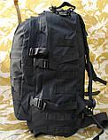 Тактичний (військовий) рюкзак Raid з системою M. O. L. L. E Black (601-black), фото 6