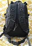 Тактичний (військовий) рюкзак Raid з системою M. O. L. L. E Black (601-black), фото 4