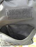Тактичний (військовий) рюкзак Raid з системою M. O. L. L. E Black (601-black), фото 3