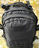 Тактичний (військовий) рюкзак Raid з системою M. O. L. L. E Black (601-black), фото 5