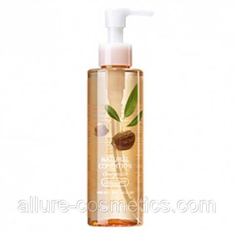 The Saem Natural Condition Cleansing Oil Deep Clean – гидрофильное масло для глубокого очищения