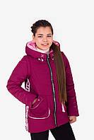 """Демисезонная  куртка-жилетка  для девочки """"Фишка"""" , весенняя детская куртка для подростка"""