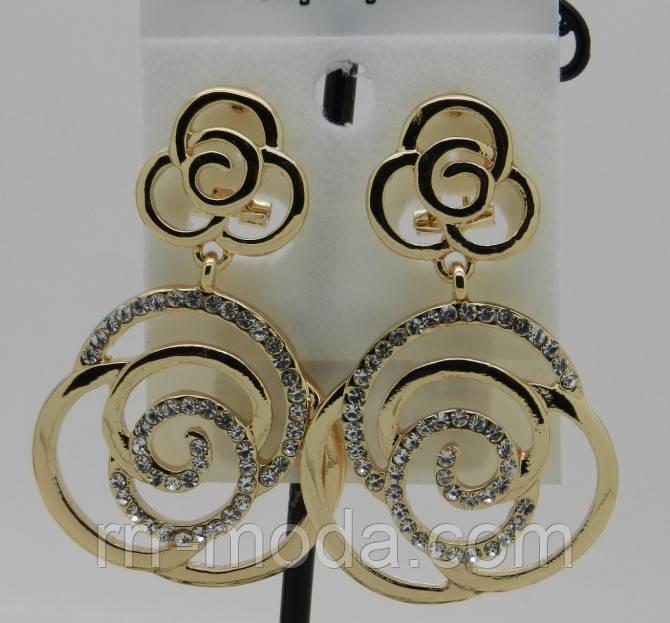Серьги брендовые. RRR элитные женские ювелирные украшения оптом. 205 -  Бижутерия оптом «R. R. R. 86d0270dd30