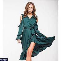 a9b1da90030 Женское нарядное платье из шелка 42 44 46 размер Новинка 2019