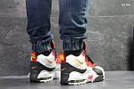 Мужские кроссовки Nike (бело/красные), фото 2