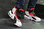 Мужские кроссовки Nike (бело/красные), фото 4