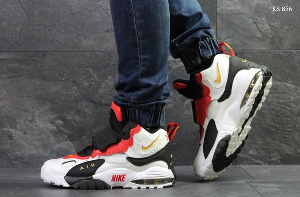 Мужские кроссовки Nike (бело/красные)