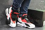 Мужские кроссовки Nike (бело/красные), фото 5