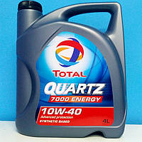 🌟Масло моторное полусинтетическое ™TOTAL QUARTZ 7000 ENERGY 10W40 (4L)