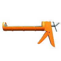 Пистолет для герметиков 225мм (полузакрытый) Grad (2723085)