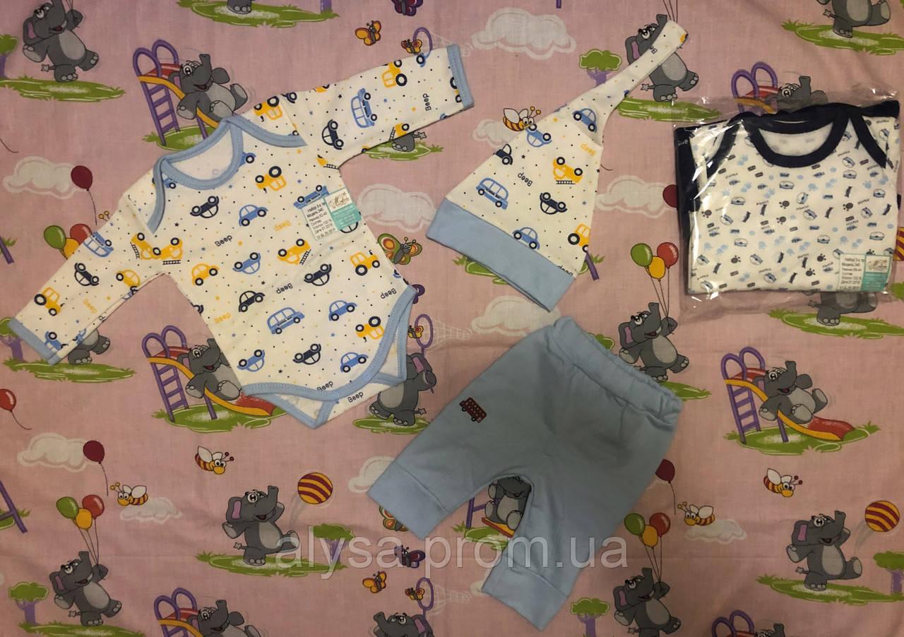 Комплект одежды для новорожденных 345 (футер)