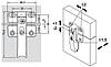 Hafele Петля для лифта Senso / FREE FOLD с регулировкой, фото 2