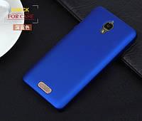 Чехол накладка бампер для Lenovo S660 синий