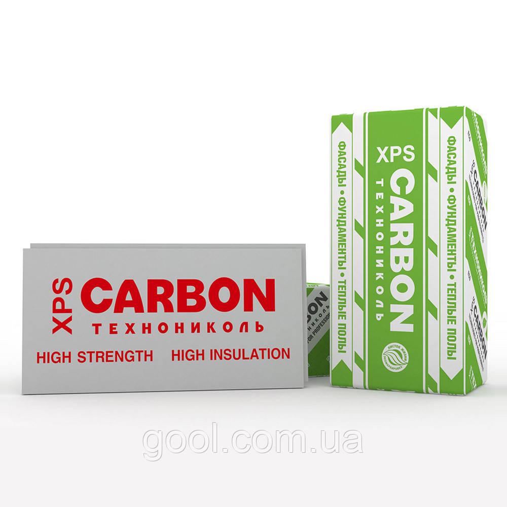 Экструзионный пенополистирол Техноплекс (Technoplex) CARBON ECO 1180х580х20мм.