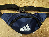 (3-отдела)Сумка на пояс adidas Адидас/Спортивные барсетки Сумка женский и мужские пояс Бананка только оптом, фото 1